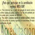 ¿Para que participar en la acreditación regional ARCU-SUR?
